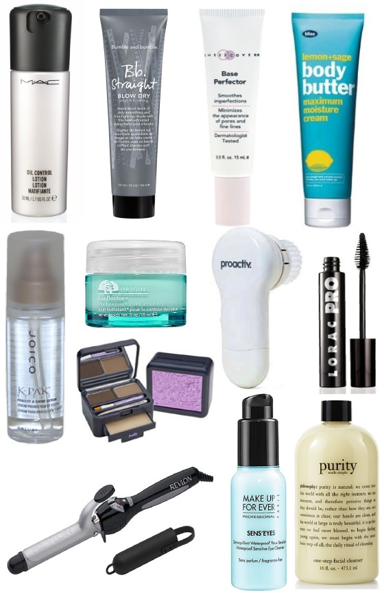 Glitter on the Ceiling:Top 12 Beauty Finds of 2012