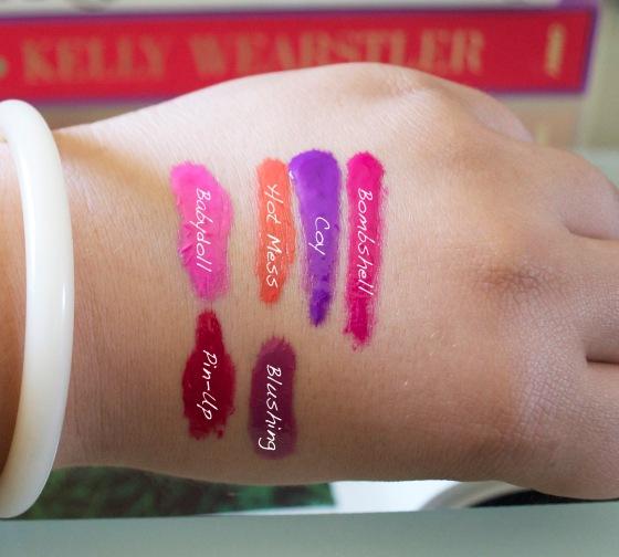 la-girl-cosmetics-glazed-lip-paint-swatches